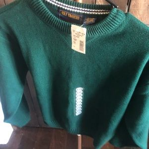 BOYS NWT GULF TRADE CABLE KNIT HEAVY SWEATER SZ-M